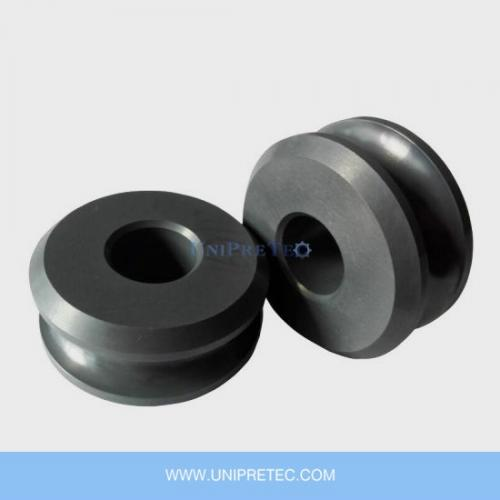 Si3N4 Silicon Nitride Ceramic Guide Roll For HF Tube And Pipe Welding