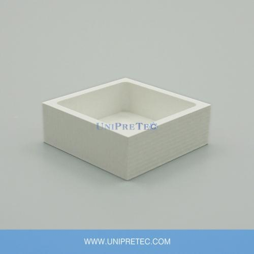 Hot Pressed Hexagonal BN Boron Nitride Ceramic Crucible