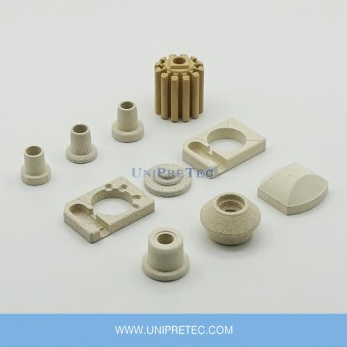 Cordierite Ceramic Parts for Galvanic Heaters Bobbin Heaters