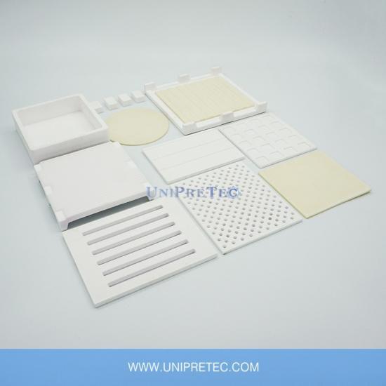 Custom High Purity Al2o3 Alumina Ceramic Sintering Trays